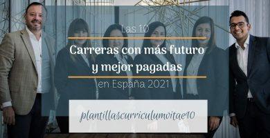 carreras con más futuro en España