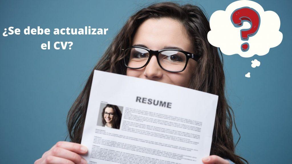 actualizar currículum