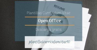 plantilla curriculum openoffice